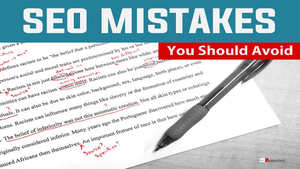 How Major Errors Caused Due To SEO Mistakes?
